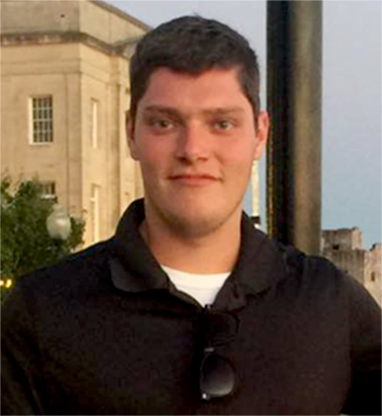 Image: Connor Betts was identified as the suspect in a shooting in Dayton, Ohio.
