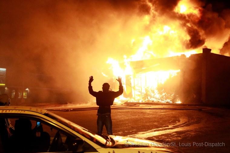 Image: Protest in Ferguson