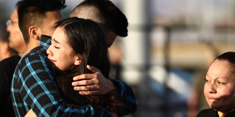 Grief and mourning after shootings