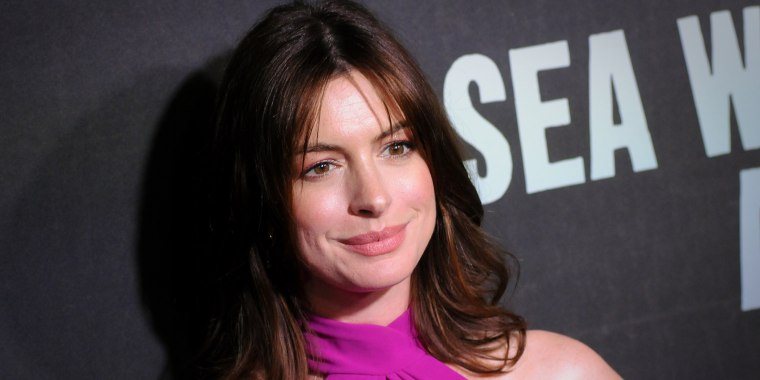 "Anne Hathaway attends the ""Sea Wall / A Life"" Broadway"