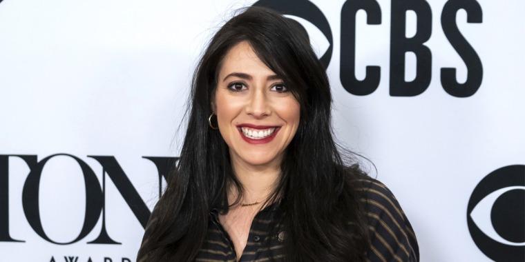 "Rachel Chavkin at the 73rd Annual Tony Awards ""Meet the Nominees"" press day at the Sofitel New York on May 1, 2019."