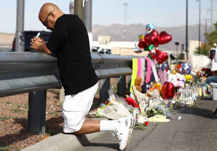 Image: 22 Dead And 26 Injured In Mass Shooting At Shopping Center In El Paso
