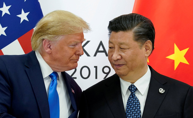 Image: Trump meets Xi at the G20 leaders summit in Osaka, Japan