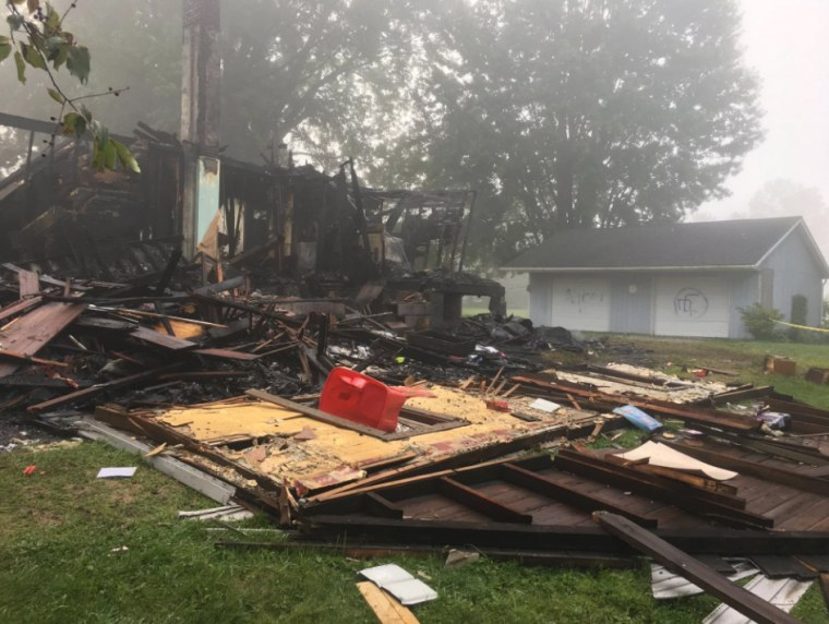 An early morning house explosion in Wayne County, Ohio on Aug. 7, 2019 is being investigated as a hate crime