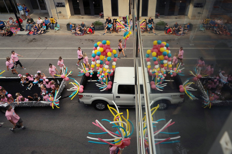 Image: Parade Marks Start Of Annual Iowa State Fair