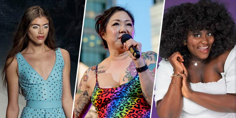 Valentina Sampaio, Margaret Cho, and Danielle Brooks.