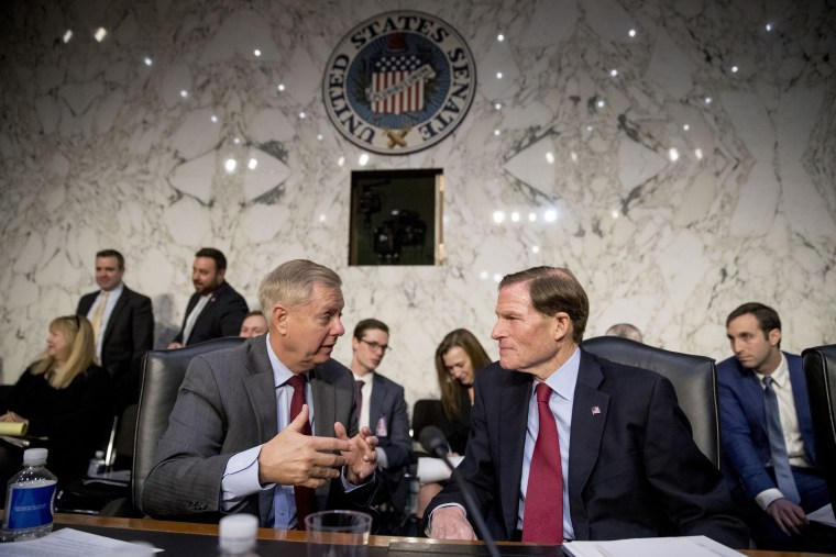 Lindsey Graham and Richard Blumenthal