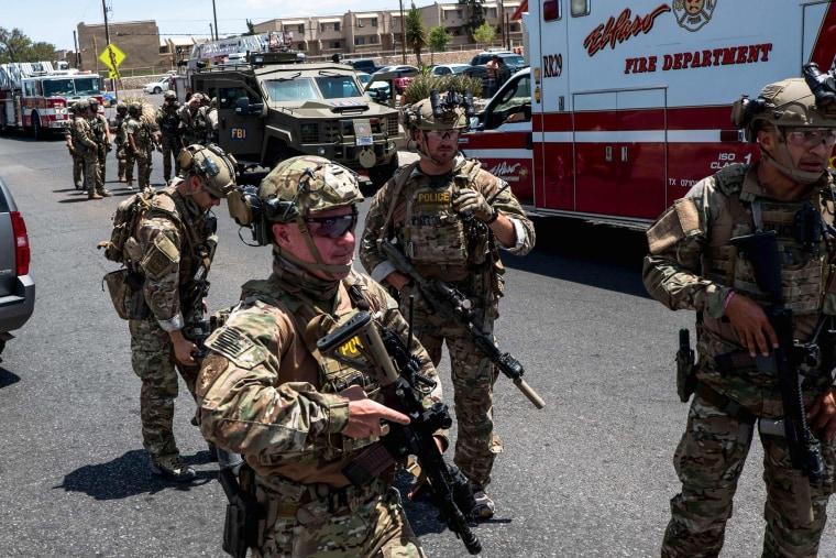 Image: US-SHOOTING-EL PASO