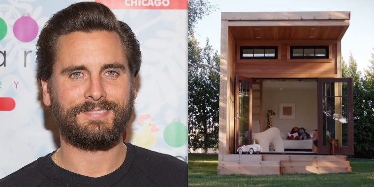 Scott Disick playhouse