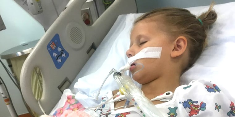 Averey Mell was a healthy 5-year-old when she suddenly started experiencing frightening symptoms.