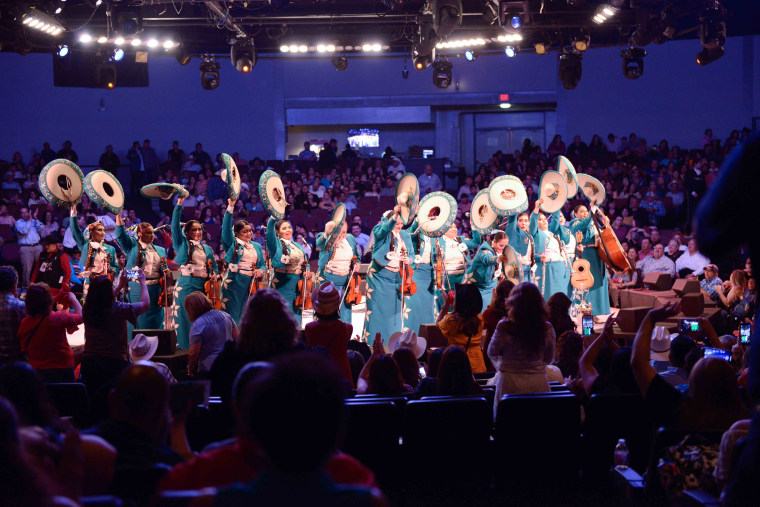 Members of Mariachi Femenil Flores Mexicanas, an all-female mariachi band in El Paso, Texas, said they have become anxious and fearful after a gunman who was allegedly targeting Latinos killed 22 people at a Walmart in that city.