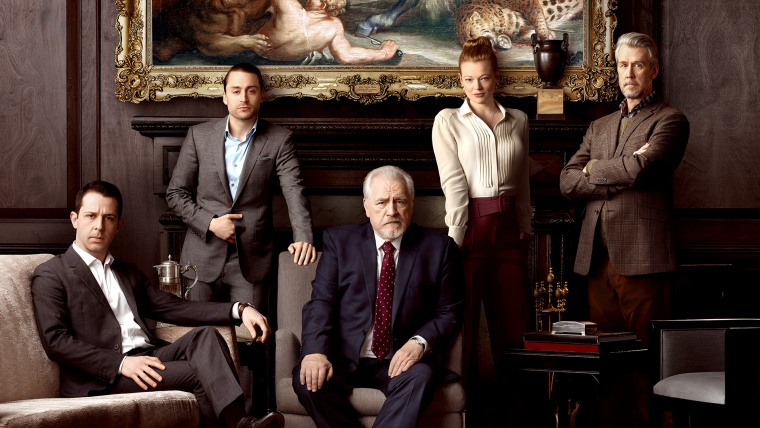 """Image: The cast HBO's \""""Succession.\"""""""
