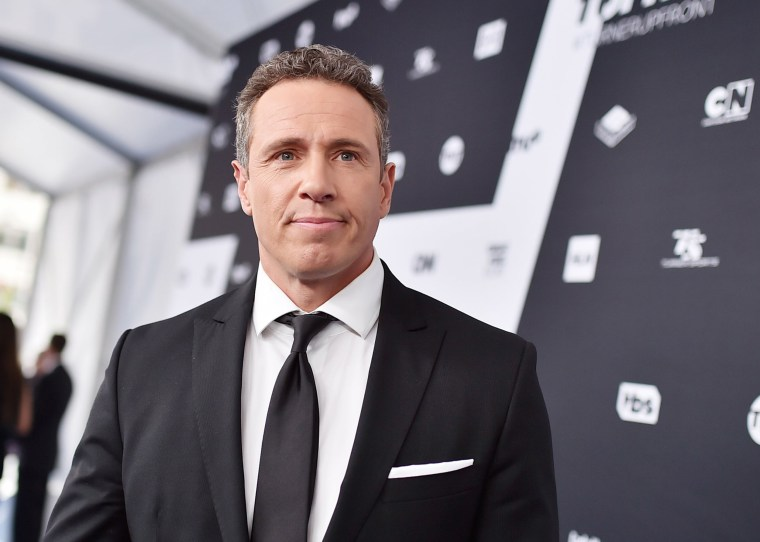 Image: Chris Cuomo attends the Turner Upfront 2018 arrivals on the red carpet at The Theater at Madison Square Garden