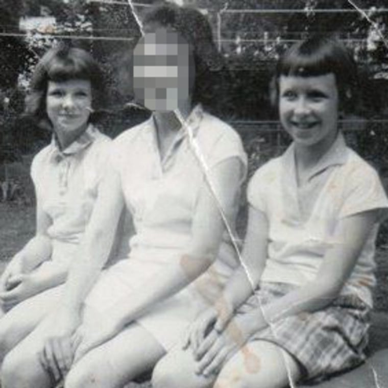 Susanne Robertson, left, and her sister June Maloney