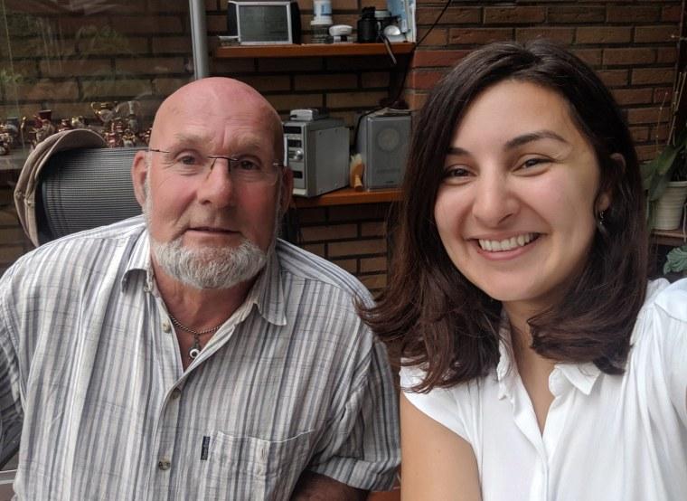 Image: Mevan Babakar met Egbert at his home across the border in Germany