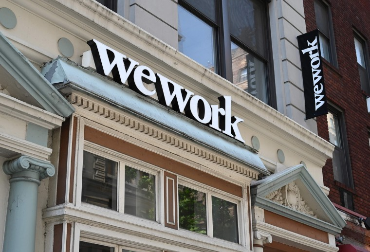 Image: A WeWork office in New York City