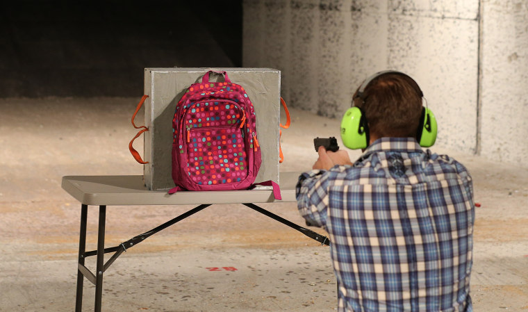 Utah Company Manufactures Bullet Proof Inserts For Children's Backpacks
