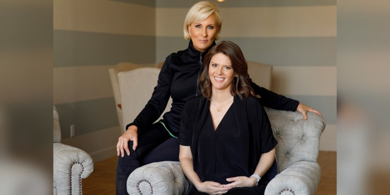 "Know Your Value founder and ""Morning Joe"" co-host Mika Brzezinski and NBC News' Capitol Hill correspondent Kasie Hunt."
