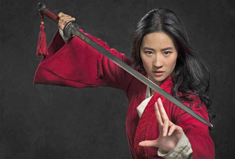 Image: Yifei Liu stars in the new live action Mulan film by Disney