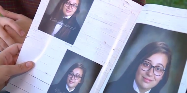Alabama girl wore tux for senior portrait. Her school yearbook left her picture out.