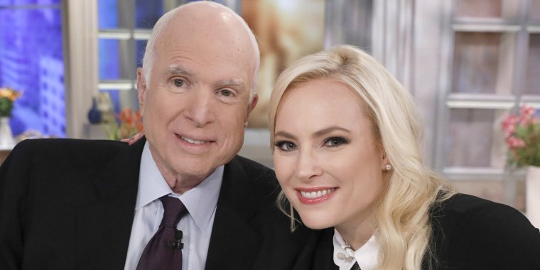 Meghan McCain pays tribute to father on Election Day