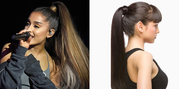 Ariana ponytail product