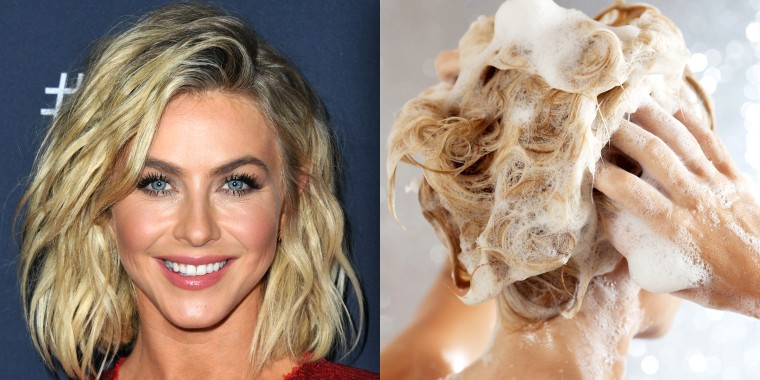 Julianne Hough's hairstylist swears by this shampoo for gorgeous blond locks