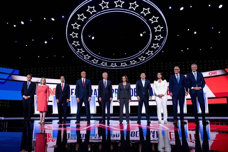 Image: Democratic primary debate