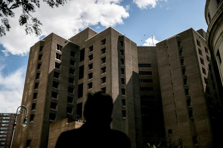 Image: The Metropolitan Correctional Center where Jeffrey Epstein was found dead in New York on Aug. 10, 2019.