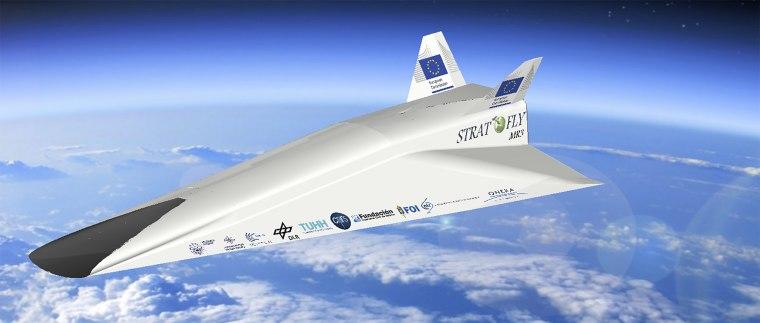 Image: Stratofly jet