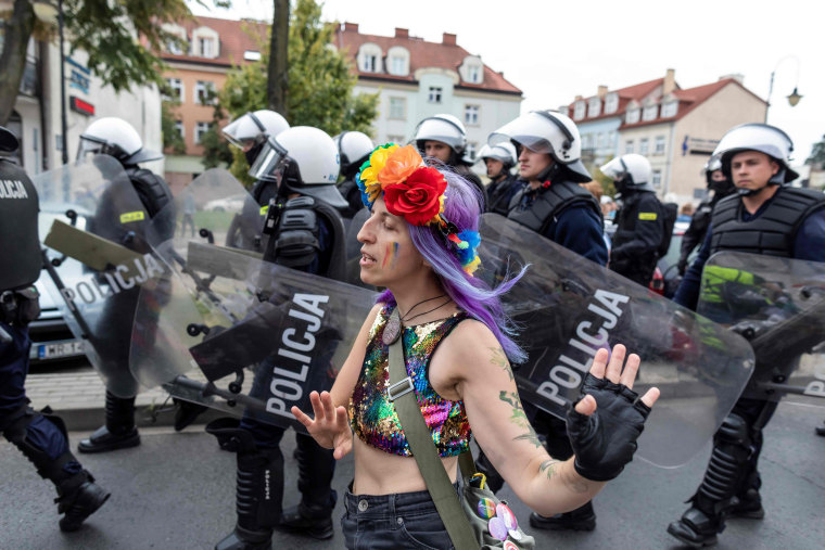 Gay Pride Halloween Costume.Polish Politician Condemns Gay Pride Marches As Election Nears