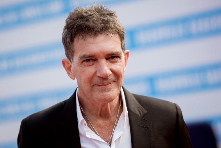Image: Antonio Banderas attends the Deauville American Film Festival in France on Sept. 6, 2017.