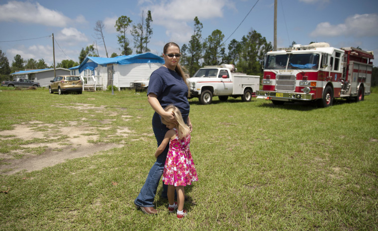First the hurricane, then the thieves. A fire department on verge of collapse pleads for help.