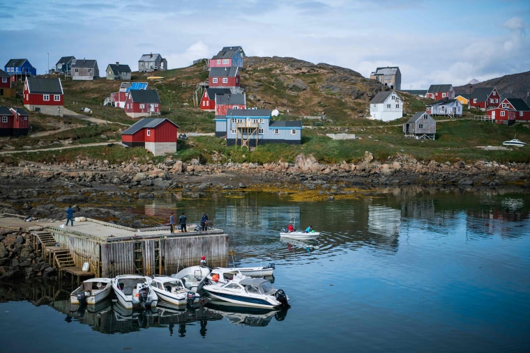 Image: The town of Kulusuk in Greenland