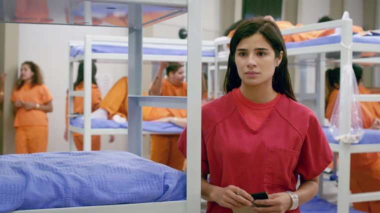 "Diane Guerrero as Maritza Ramos on the Netflix series""Orange Is the New Black."""