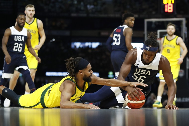 Streak ends: U.S. men's basketball falls to Australia for first loss in 13 years