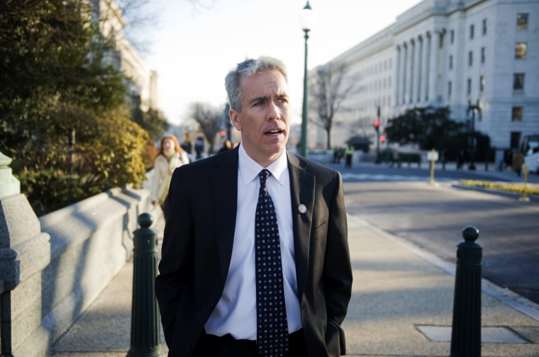 Image: Rep. Joe Walsh, R-Ill., walks to the Capitol in 2011.