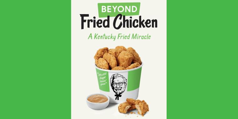 KFC testing a Beyond Meat fried chicken alternative