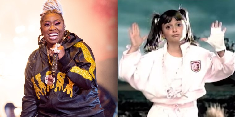 Missy Elliott reunites with young dancer from 2002 video at VMAs