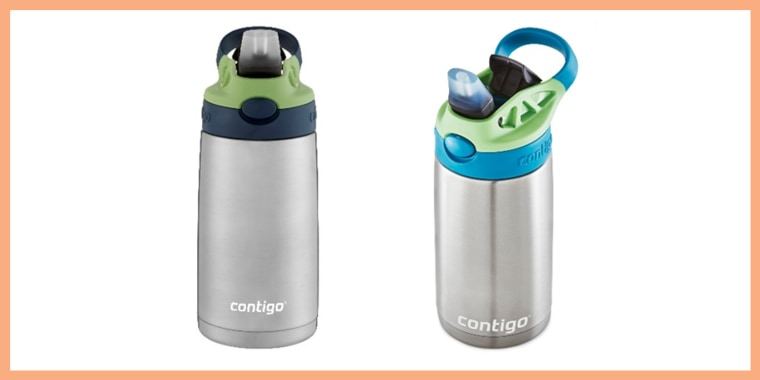 Silicone spouts on Contigo water bottles can detach and become a choking hazard, according to a recall notice.