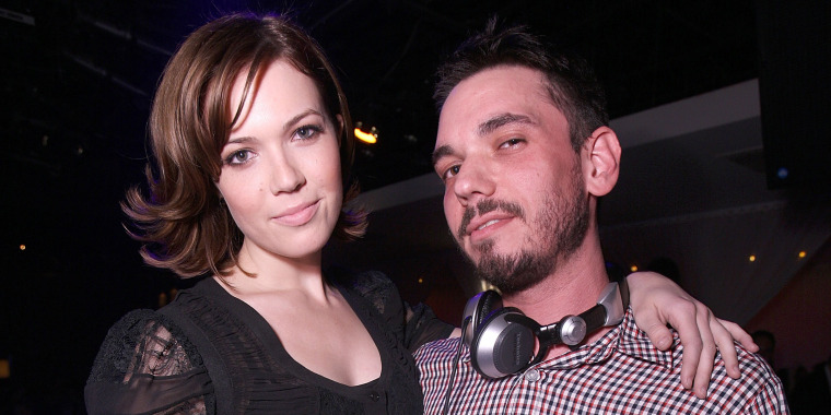 Mandy Moore Hosts at PURE Nightclub with Music by DJ AM