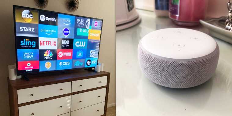 Amazon is selling a TV with a free Echo Dot this weekend
