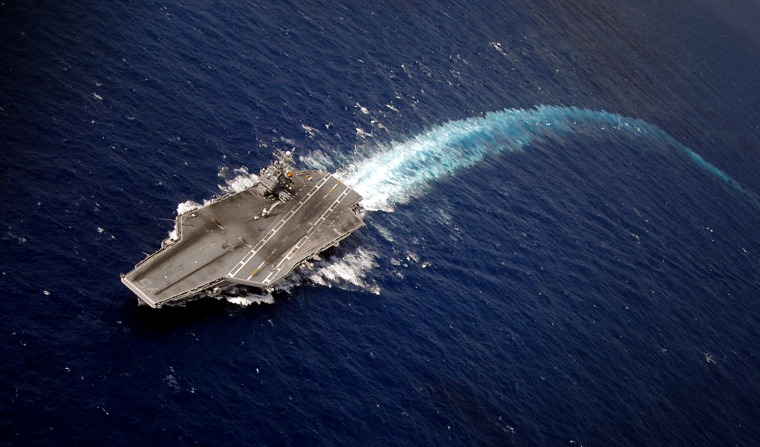 Congress' demands for nuclear-powered aircraft carriers are sinking the Navy