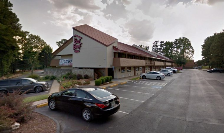 Image: The Red Roof Inn in Smyrna, Ga., was one of four hotels named in a sex trafficking lawsuit filed by four survivors.