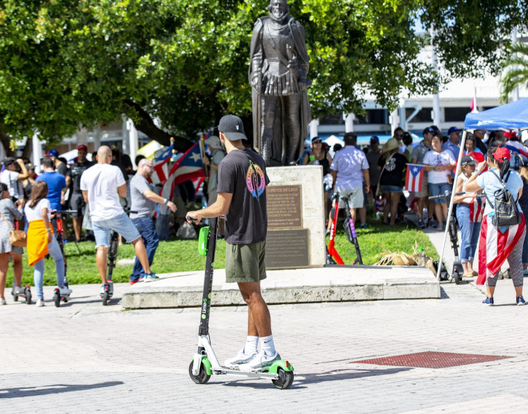 Image: Miami scooters