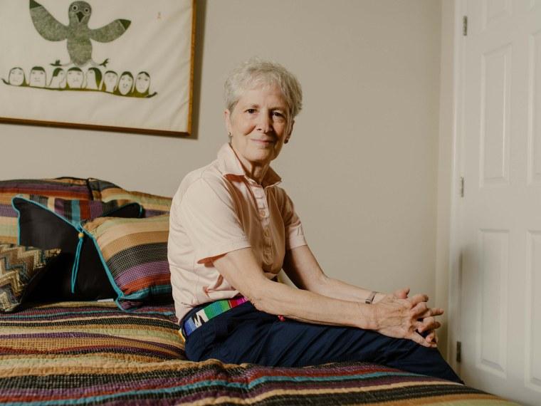 Image: Judith Plaskow in her Washington Heights apartment