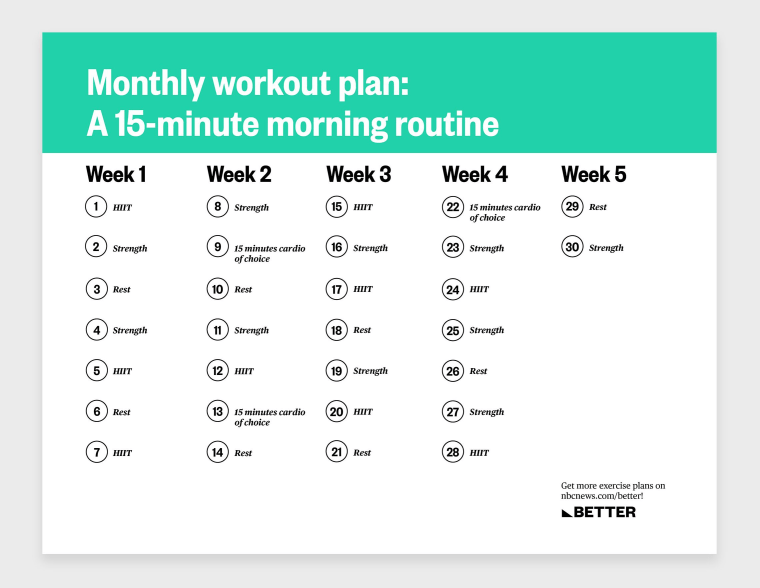 A 15-minute morning workout routine you can do anywhere
