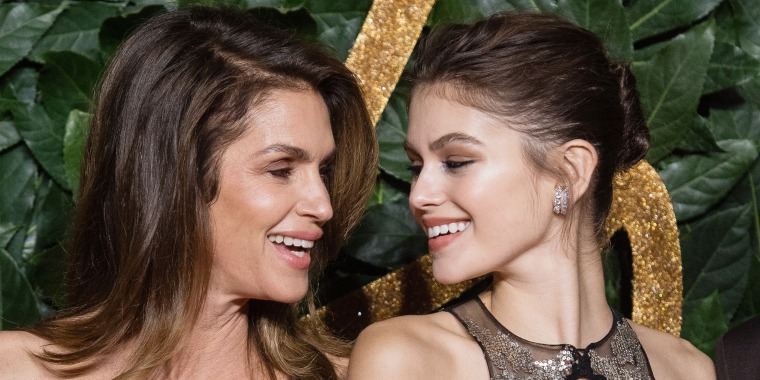Kaia Gerber, 18, looks like Cindy Crawford on new British Vogue cover