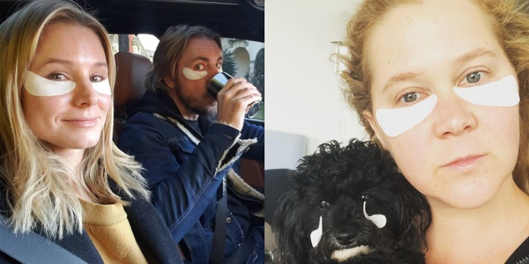 Kristen Bell, Dax Shepard and Amy Schumer have snapped selfies in these cooling eye gels.