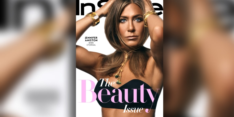 Jennifer Aniston shows off freckles on cover of InStyle